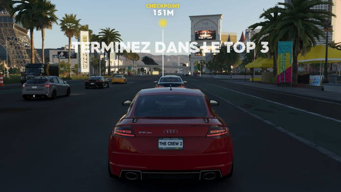 The Crew 2 Test - Un gameplay fluide et diversifié pour plus de fun - Street racing Depart - terminer dans le top 3