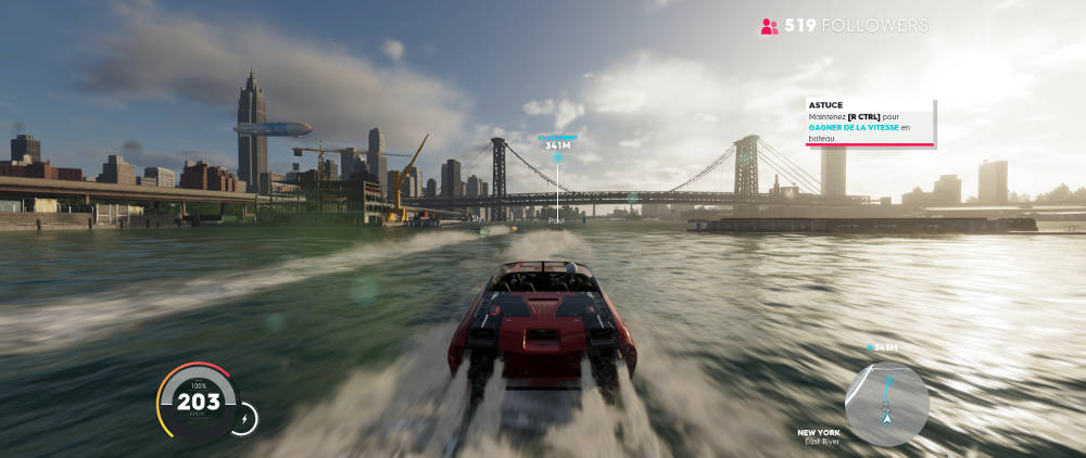 The Crew 2 Test - Un gameplay fluide et diversifié pour plus de fun - gameplay Bateau
