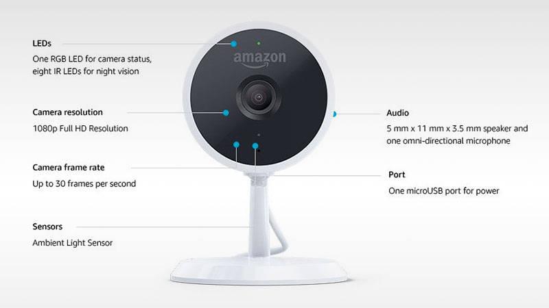 Les meilleures caméras de surveillance pour tous les budgets - Amazon Cloud Cam