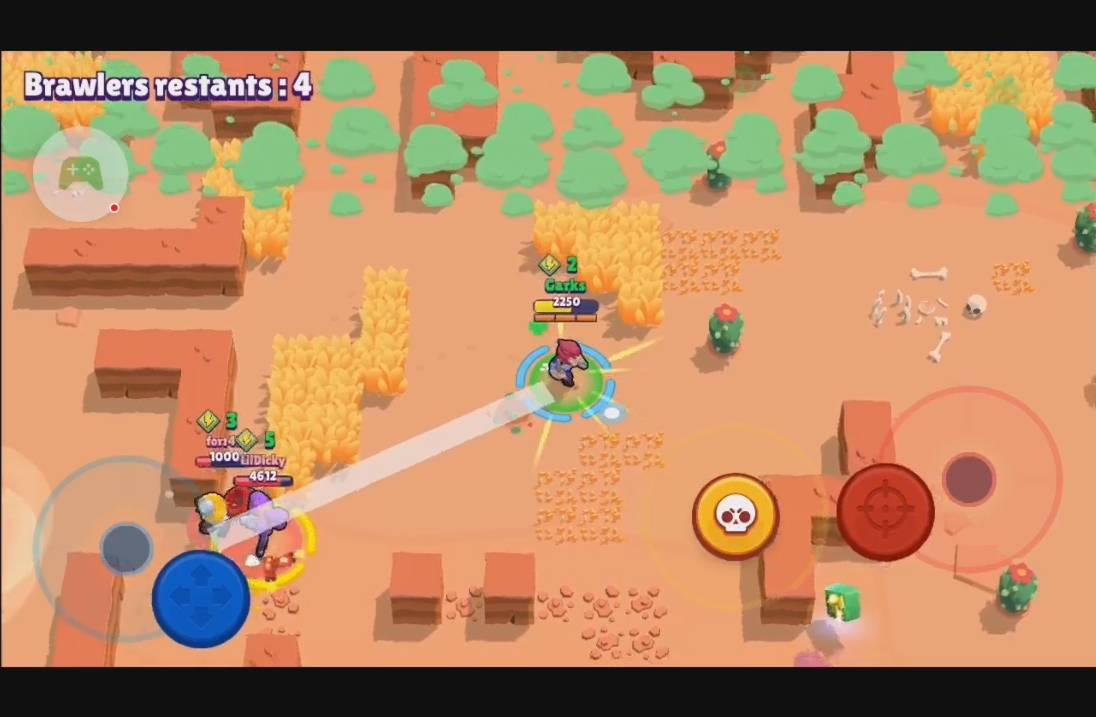 Battle Royale Gameplay - Brawl Stars