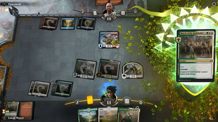 Magic The Gathering Arena - La beta ouverte commence - gameplay 2