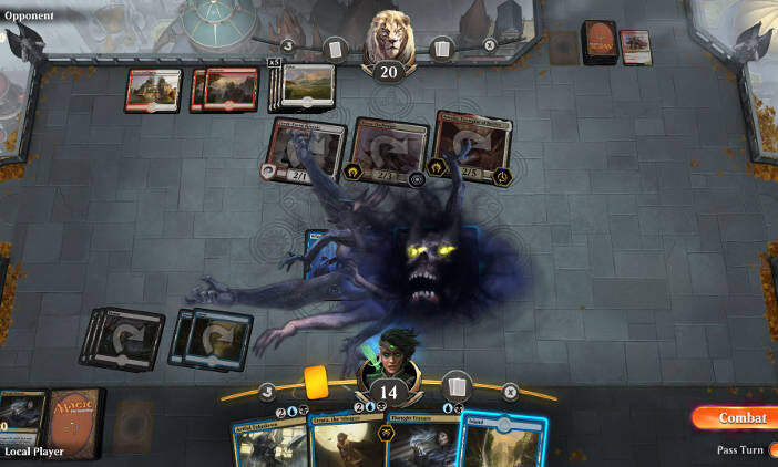 Magic The Gathering Arena - La beta ouverte commence - gameplay