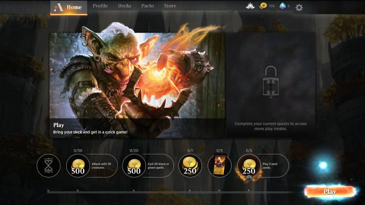Magic The Gathering Arena - La beta ouverte commence - partie rapide