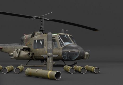 War Thunder 1.81 - Helicopetere UHC