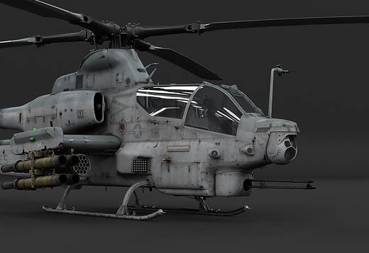 War Thunder 1.81 - helicoptere AH-1Z