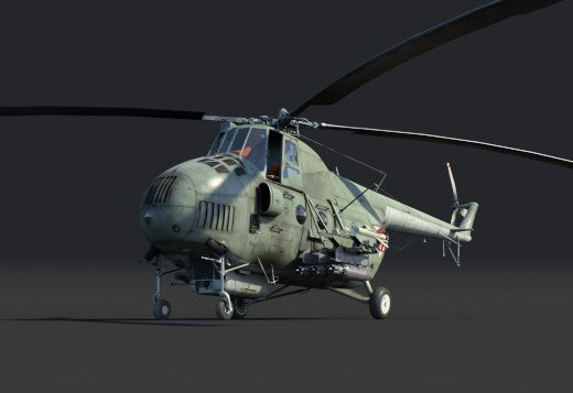 War Thunder 1.81 - helicoptere Mi-4