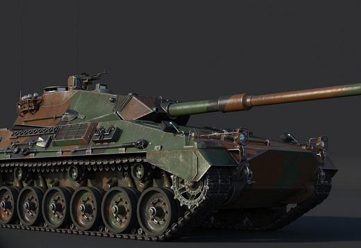War Thunder 1.81 - nouveaux tank 4