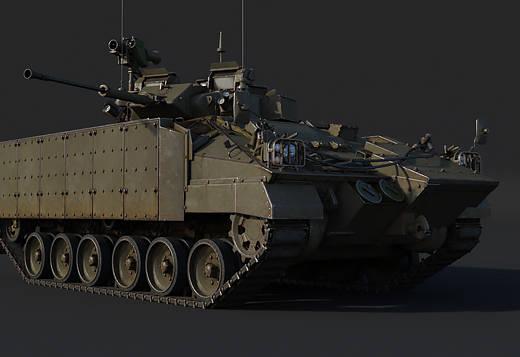 War Thunder 1.81 - nouveaux tank