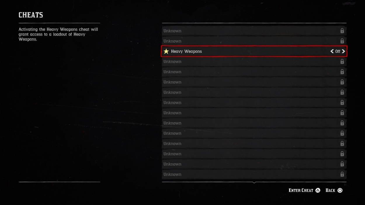 Comment activer les cheats codes dansRed Dead Redemption 2