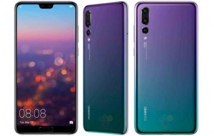 Meilleurs Smartphones Android 2018-Huawei P20 Pro-2