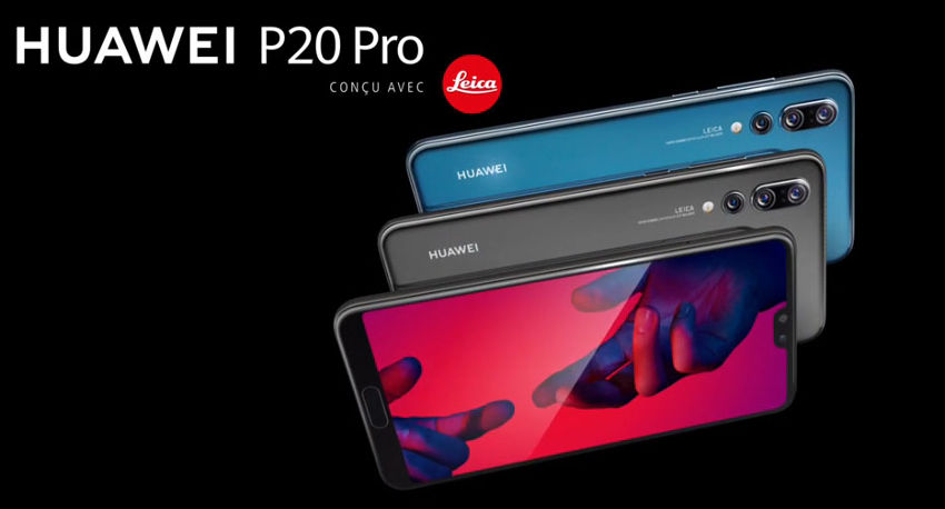 Meilleurs Smartphones Android 2018-Huawei P20 Pro