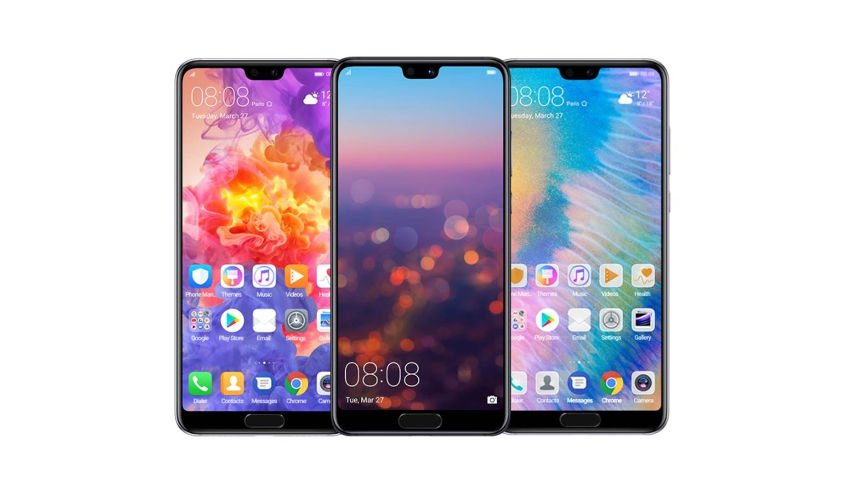Meilleurs Smartphones Android 2018Huawei P20 Pro-3face