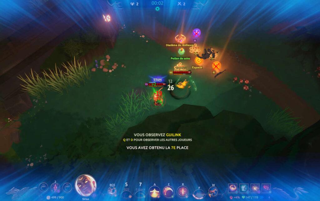 exemple gameplay 2 - Obtenez une copie gratuite de Battlerite Royale