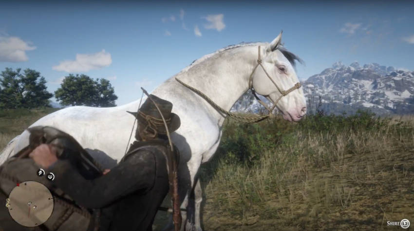 Red Dead Redemption 2 Dressage Guide - mettre sa selle