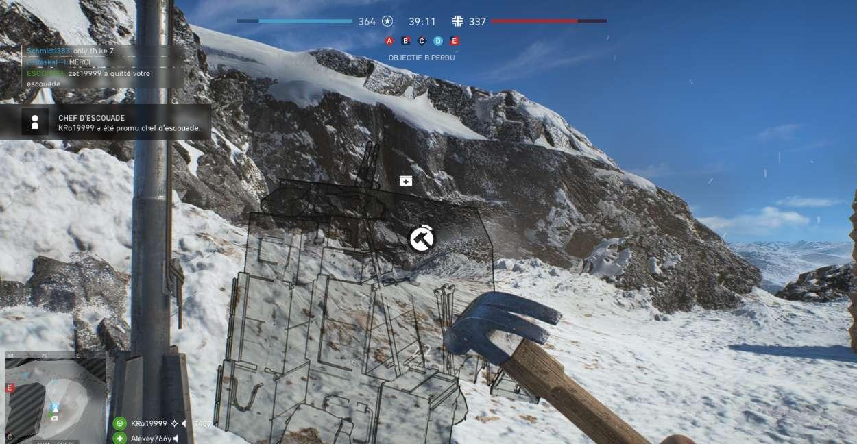 Battlefield 5 Construction et Fortification - stock de medikits