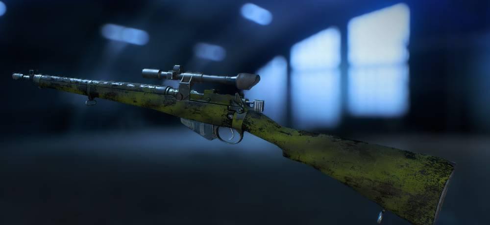 Battlefield 5 Personnalisation Armes - Arme sniper modifiée