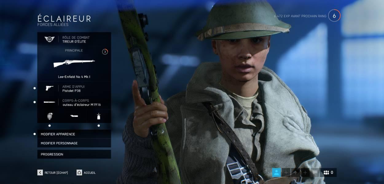 Battlefield 5 Spécialisation des armes - Le guide