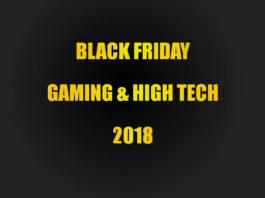 Black Friday Gaming et High Tech - Meilleurs deals jeux vidéo, PC, console - 2