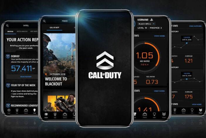 Black Ops 4 Companion App - fonctionnalités