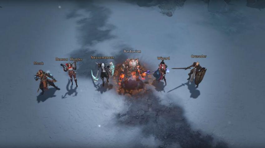 Diablo Immortal - 6 classes à jouer