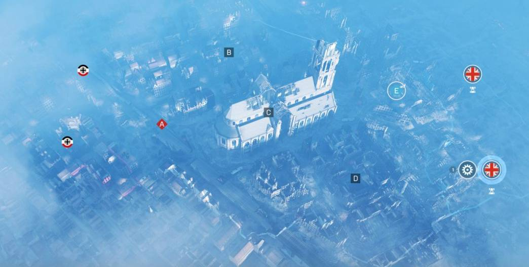La carte Dévastation de Battlefield 5