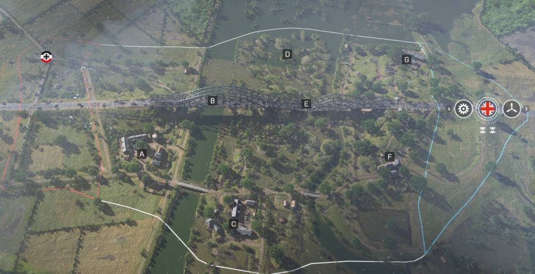 La carte Torsion d'acier de Battlefield 5