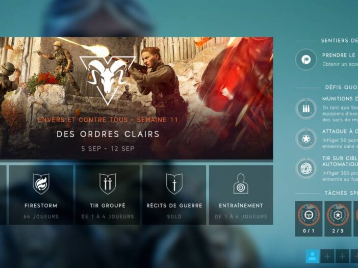 Mode de Jeu BF5 - Disponibles ou à venir - Guide