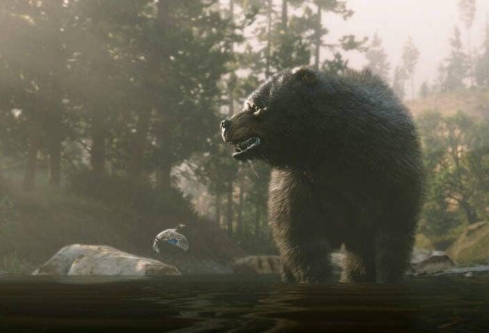 RDR2 Animaux Légendaires - La carte pour trouver castor, cougar, élan ...