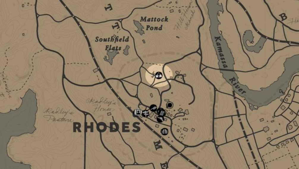 RDR2 - Receleur Rhodes