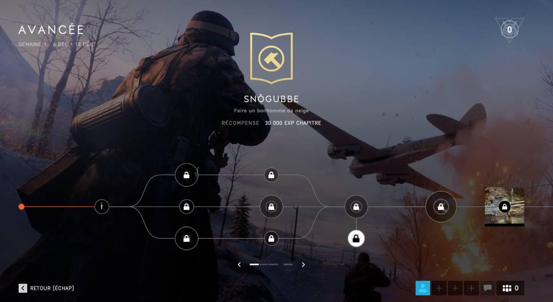 Battlefield 5 - Sentiers de la guerre - Bonhomme de neige - Snögubbe