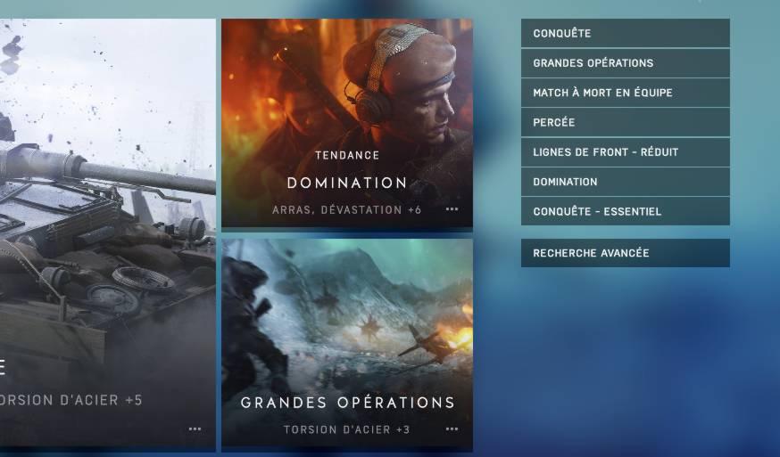 Battlefield 5 - TTK d'origine - conquête essentiel