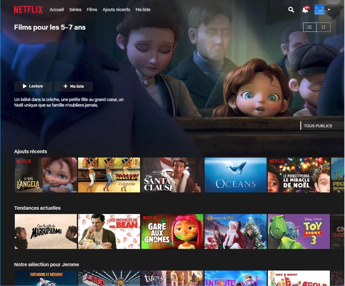Code Secret Netflix - Accéder aux films et séries cachés - Films pour les 5-7 ans