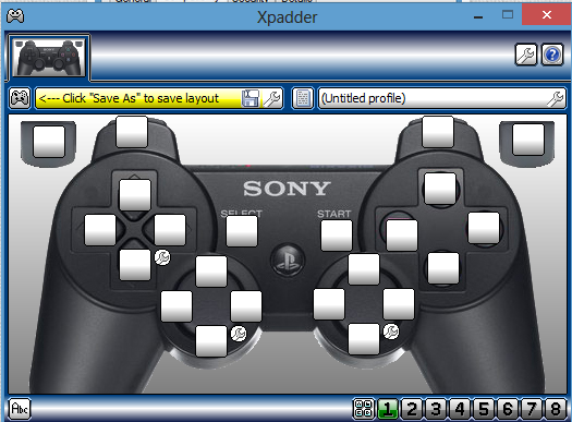 configurer Xpadder Windows 10 avec une manette PlayStation