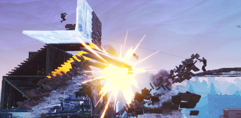 2 - Fortnite Piège - combat