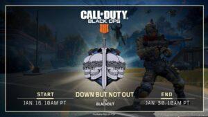 BO4 Blackout - ajout d'une réapparition dans le mode Battle Royale
