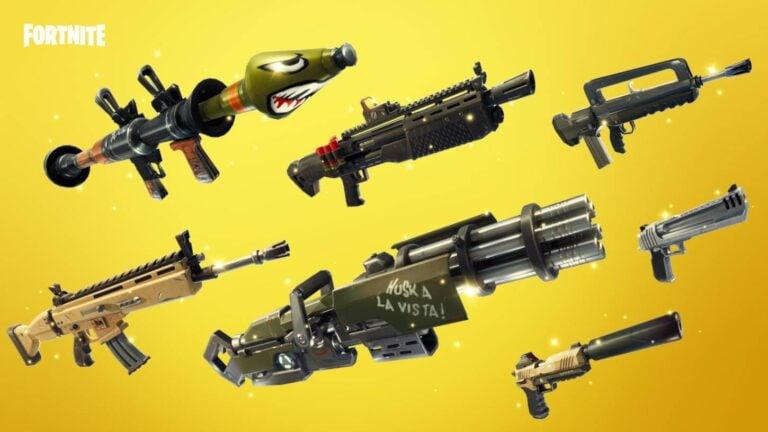 Niveau de rareté Fortnite : les codes couleurs des armes et équipements