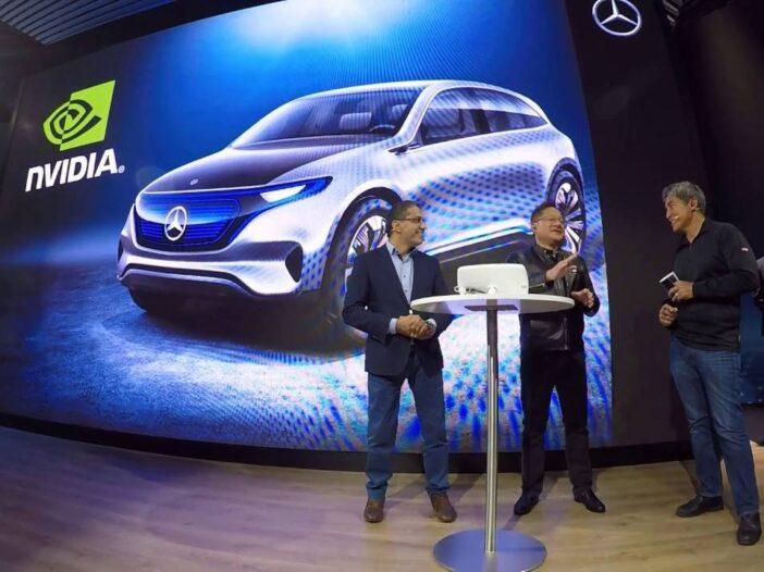 Mercedes et Nvidia s'associent pour construire des véhicules IA Next Gen