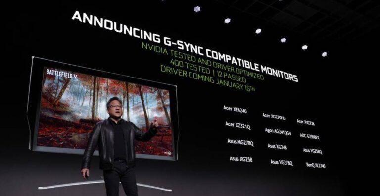 Activer FreeSync Nvidia : activer G-Sync avec un écran FreeSync