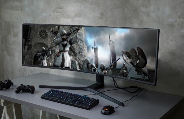 Samsung dévoile un écran 49 Gaming HDR et FreeSync 2 - CRG9
