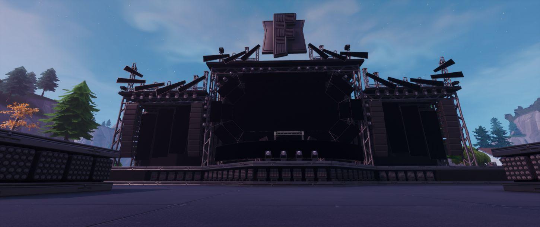 2 salle de concert Fortnite Evenement Marshmello - Heure et infos