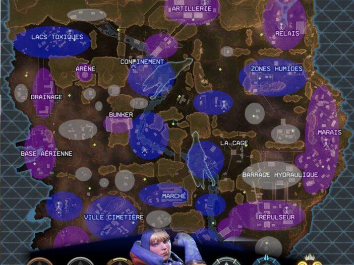 Apex Legends Carte et Niveau de Butin - Les zones à choisir - Saison 2