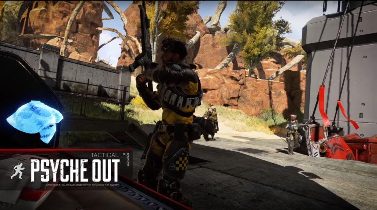 Dissuasion Compétences Tactique Mirage - Apex Legends Personnage