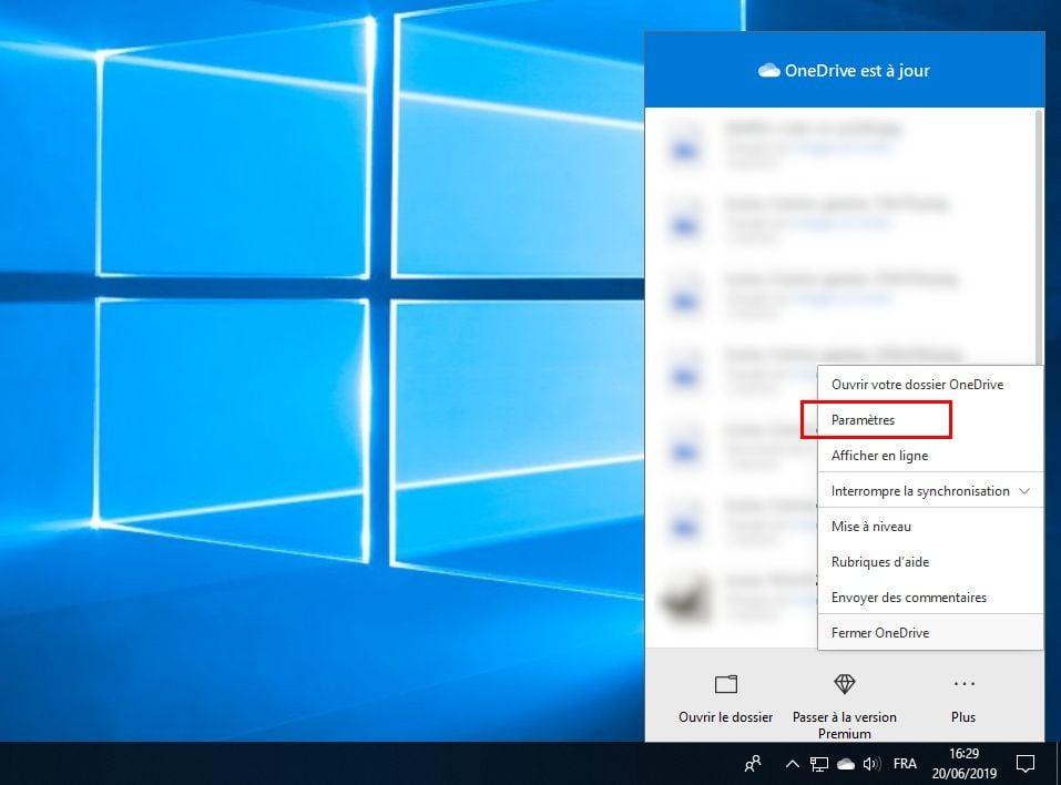 Désactiver OneDrive sur windows 10 de manière permanente