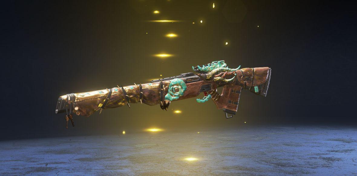 Skin légendaire Bête apprivoisée pour le fusil triple - événement chasse légendaire