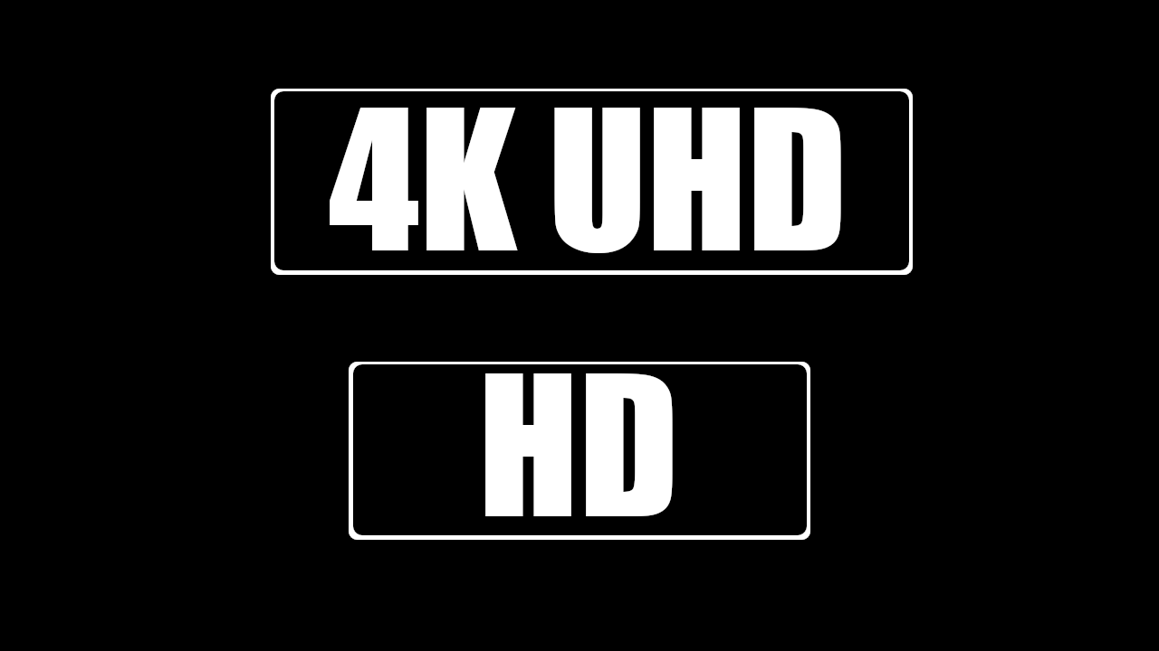 Netflix icone 4K UHD ou HD