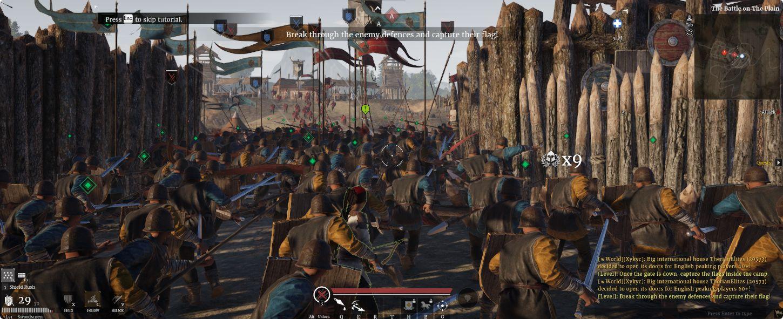 Conqueror's Blade - gameplay
