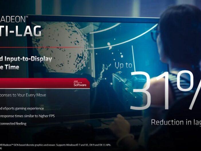 Radeon Anti-LagAMD - la solution pour réduire la latence Input Lag