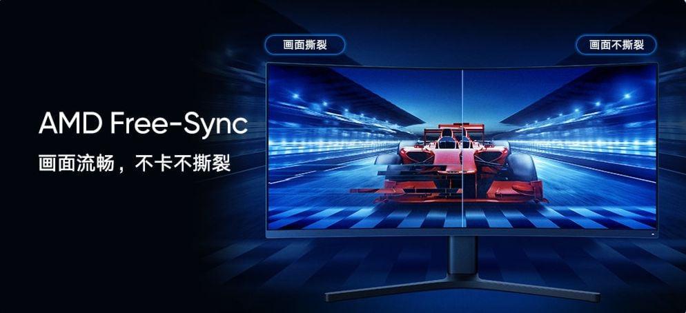 FreeSync - Xiaomi Mi Surface 34 WQHD 144Hz