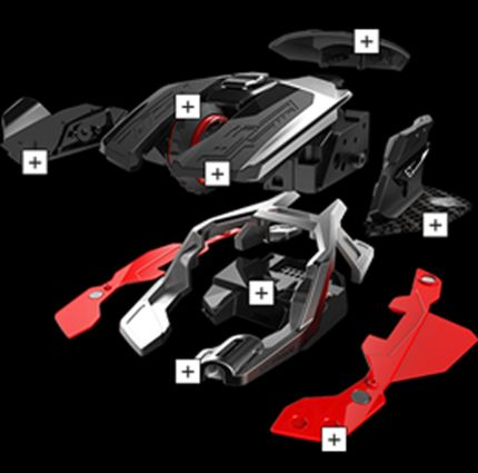 Personnalisation R.A.T.AIR Mad Catz