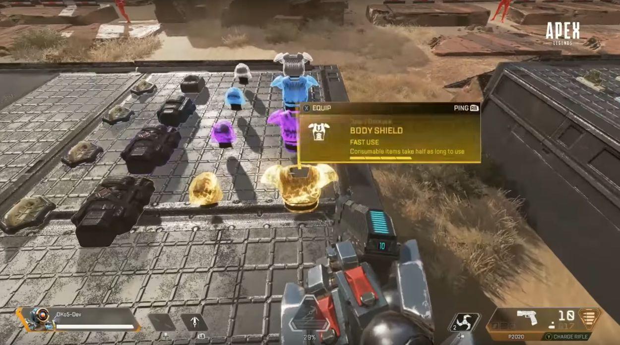 Tous les modificateurs d'armes disponible dans le nouveau mode d'entraînement d'Apex